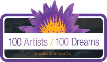 100 Artists/ 100 Dreams logo